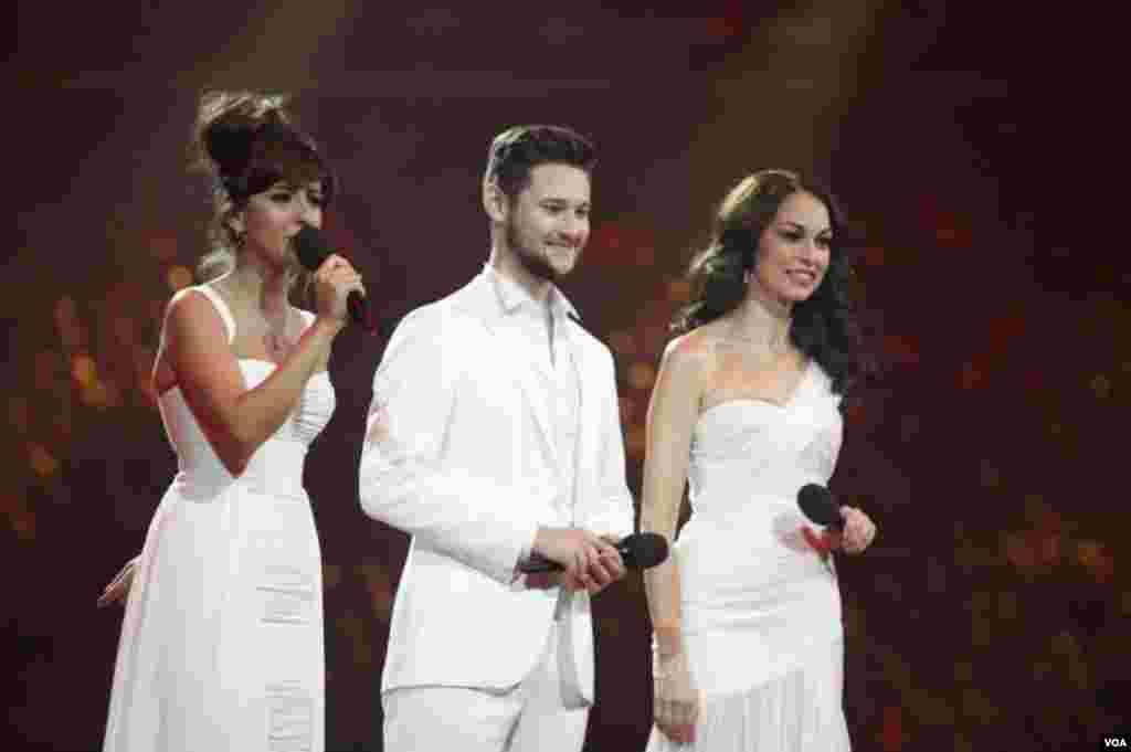 Nargiz Eurovision Eldar ve Leyla ile