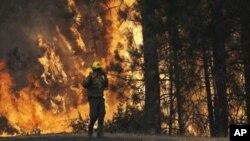 El incendio forestal de Yosemite ha calcinado más de 725 kilómetros cuadrados de superficie.