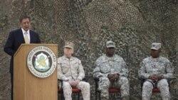 گزارش صدای آمريکا از مصاحبه وزير دفاع آمريکا در عراق