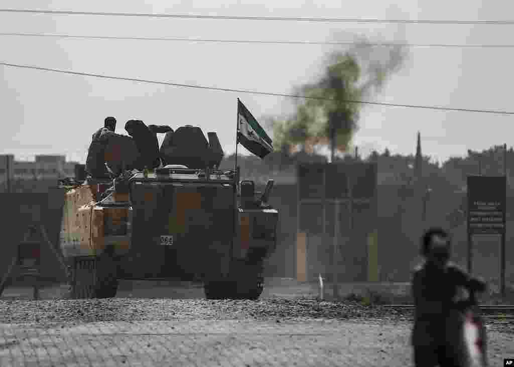 با اینکه اعلام شد ترکیه به مدت پنج روز در مناطق شمال سوریه آتشبس خواهد کرد اما برخی از منابع کرد، میگویند روز جمعه حملاتی صورت گرفت.