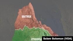 Demarcaçãode fronteira entre a Eritreia e Etiópia