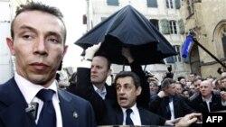 Francuski predsednik Nikola Sarkozi u izbornoj kampanji na jugu Francuske