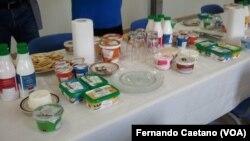 Produtos lácteos, Kwanza Sul, Angola