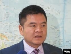 民進黨立委莊瑞雄(美國之音張永泰拍攝)