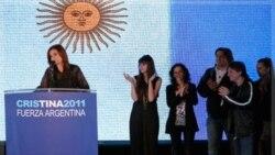 پیروزی کریستینا فرناندز کریشنر در انتخابات ریاست جمهوری آرژانتین