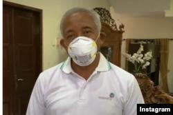 Sri Purnomo ketika memberi keterangan mengenai kondisinya, Kamis 21 Januari 2021. (foto: Instagram/ Sri Purnomo)