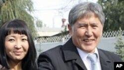 Президент Кыргызстана Алмазбек Атамбаев (архивное фото)