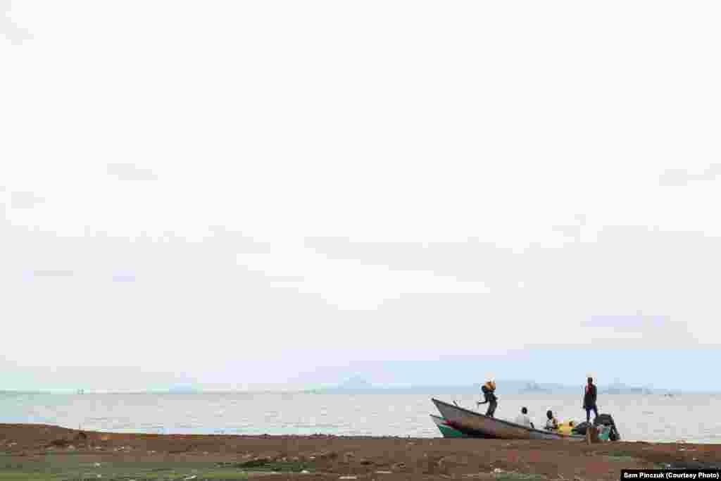 Child slavery is a huge problem on Ghana's Lake Volta.