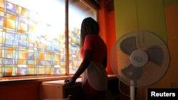 Une ancienne prostituée nigériane au Centre pour filles victimes de trafic humain près de Catane, Italie, 14 septembre 2016.