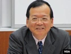 政治大學國際關係研究中心研究員 陳德昇(美國之音 張永泰拍攝)