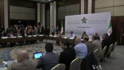 Pressure Rising on Syrian Opposition