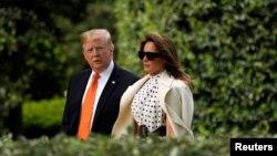 El presidente de Estados Unidos, DonaldTrump, elogió el miércoles 24 de abril de 2019 el curso que llevan las negociaciones sobre comercio con China.