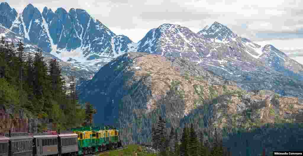 راهآهن وايت پس، و يوکان در ايالت آلاسکا