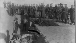 Burial of Lakota Sioux Indians