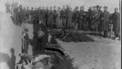Burial of Lakota Sioux Indians