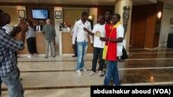 Des supporters de la Guinée Conakry à Malabo