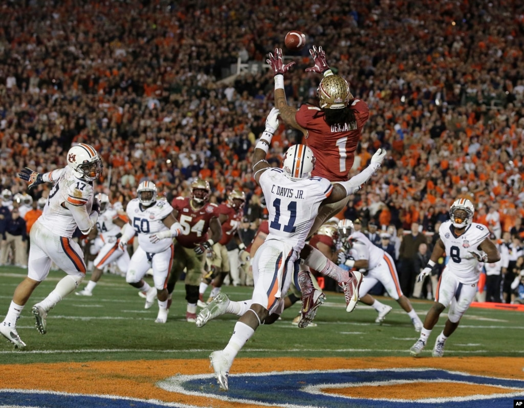 Florida State Edges Auburn in College Football National ...
