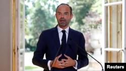 에두아르 필리프 프랑스 총리.
