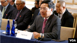 Tư Liệu- Phó Thủ tướng kiêm Bộ trưởng Ngoại giao Việt Nam, Phạm Bình Minh.