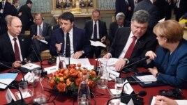 Milano, mungesë përparimi në bisedimet për Ukrainën