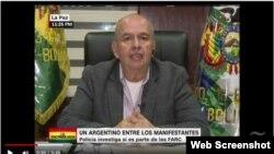 """Arturo Murillo, ministro de gobierno de Bolivia, dijo que el expresidente Evo Morales podría ser demandado ante el Tribunal de La Haya por """"crímenes de lesa humanidad""""."""