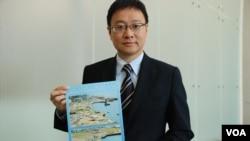 香港立法會議員陳家洛認為﹐中環海濱改劃軍事用途涉及複雜法律問題 (美國之音記者 湯惠芸)