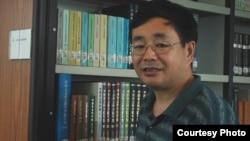 北京独立学者陈子明 (资料照片 - 陈子明提供)