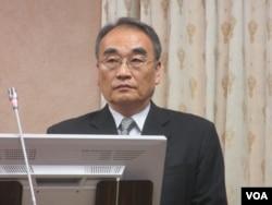 台湾国家安全局副局长王德麟