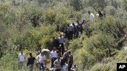 پهنابهرانی سوریا سنور دهبهزێنن بۆ نێو خاکی لوبنان به هۆی توندوتیژییهکانی وڵاتهکهیان 17ی پێنجی 2011