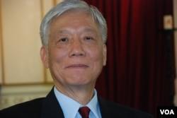 朱耀明牧師表示,和平佔中運動不會打倒任何人,也不會反抗任何政權