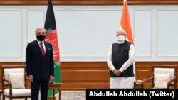 افغانستان کی قومی مفاہمت کی اعلیٰ کونسل کے سربراہ عبداللہ عبداللہ نے بھارت کے دورے میں جمعرات کو وزیرِ اعظم نریندر مودی سے ملاقات کی ہے۔