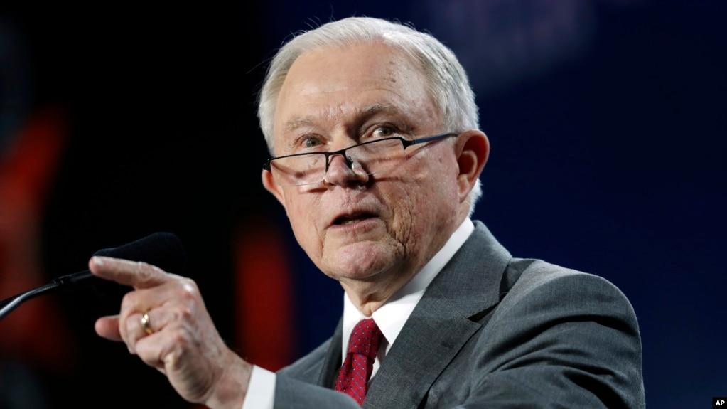 El fiscal general de EE.UU., Jeff Sessions hablará el miércoles de una nueva iniciativa para proteger la libertad religiosa.