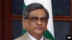 بھارتی وزیرِ خارجہ ایس ایم کرشنا