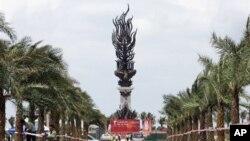 海南三亚风景区 五国首脑聚会地