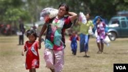 Anak-anak adalah bagian dari kelompok yang paling menderita ketika bencana terjadi dan harus kehilangan tempat tinggal.