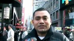 Time Square esta listo para recibir el 2014