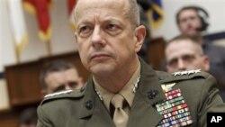 Chỉ huy các lực lượng hỗ trợ an ninh quốc tế (ISAF), Tướng John Allen