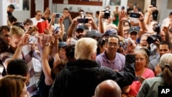 Trump in Puerto Rico to Survey Hurricane Damage