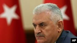 Le Premier ministre turcBinali Yildirim, 18 juillet 2016.