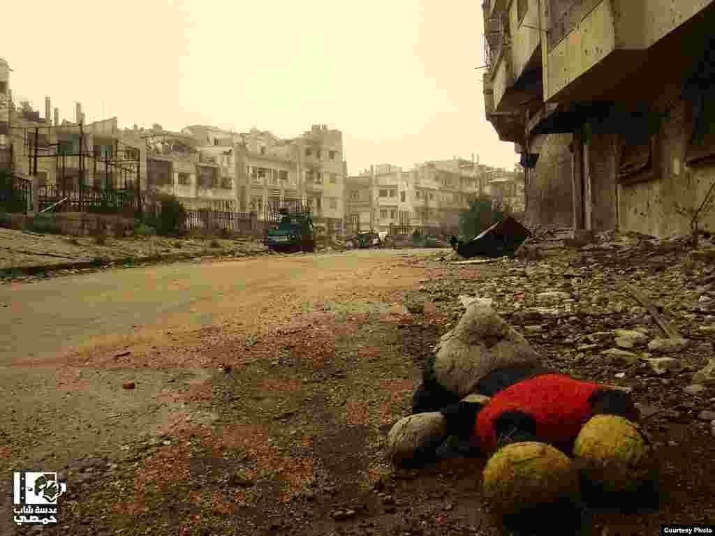 Закинутий район Аль-Халдія.