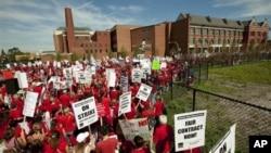 Забастовка учителей в Чикаго, Иллинойс