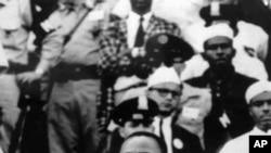 馬丁.路德.金當年發表演講