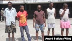 Recrutas da autoproclamada Junta Militar da Renamo, Sofala