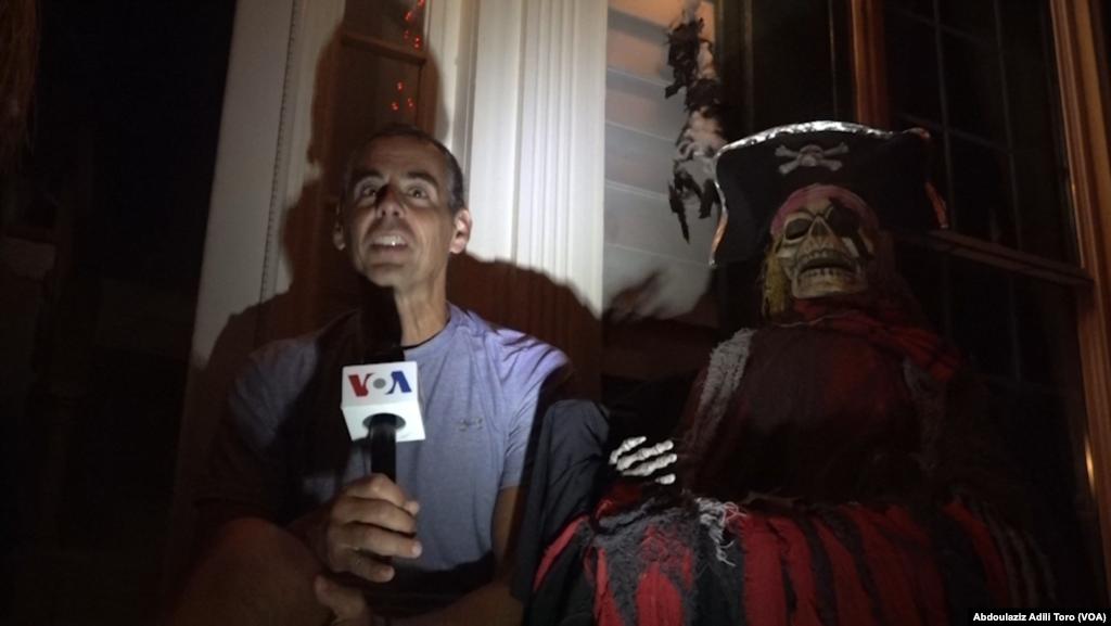 Shirin Mr. Roy a Ranar wasan Halloween, Gaithersburg, Maryland Ranar 31 Oktoba 2019.