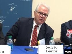 Profesor David Lampton (Foto: VOA)