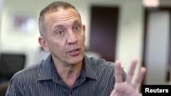 Former Venezuelan prosecutor Franklin Nieves speaks with Reuters in an interview in Miami, Florida, Oct. 29, 2015.