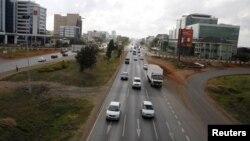 Mombasa à Nairobi au Kenya, le 4 mars 2016