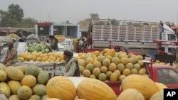 د افغانستان د شمال دهقانان خټکو ته بازار لټوي