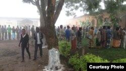 Rakyat Rwanda berikan suara dalam referendum pemilihan presiden.