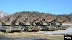 驻守在南北韩分界线的唯一美国前沿部署师